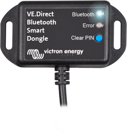 VE.Direct Bluetooth Smart güvenlik cihazı
